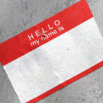 Picture of name tag